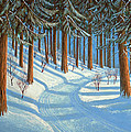 Tahoe Forest In Winter by Frank Wilson