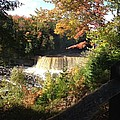 Tahquamenon Falls With My Iphone by Linda Kerkau