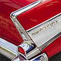 Tail Fins Are In 1957 Chevy by Rich Franco