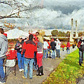 Tailgating Outside Of The Stadium 1 by Digital Photographic Arts