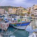 Taiwan Boats by Bill Hamilton