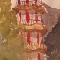 Taiwan Pagoda by Gail Heffron