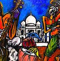 Taj Mahal Dancers by Real ARTIST SINGH