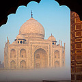 Taj Mahal Dawn by Inge Johnsson