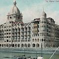 Taj Mahal Hotel, Bombay (mumbai) by Mary Evans Picture Library