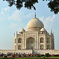 Taj Mahal - India by Kim Andelkovic