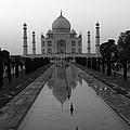 Taj Mahal Reflection by Aidan Moran