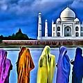 Taj Mahal Royal Palace by Florian Rodarte