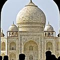 Taj Through The Gates by Balaji Nagarajan