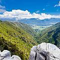 Takaka Hill Limestone Outcrops Takaka Valley In Nz by Stephan Pietzko