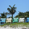 Take A Seat At The Beach by Leslie McRae-Matthews