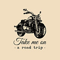 Take Me On A Road Trip Inspirational by Vlada Young