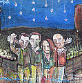 Take To The Oars At Red Rocks 2012 by Laurie Maves ART