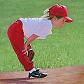 Taking An Infield Position by Emily Land