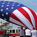 Taking Down The Flag by Wanda Jesfield