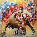 Taking On The Wall Street Bull by Miki De Goodaboom