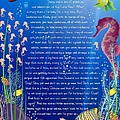 Tale-on-a-poster / The Baby Seahorse by Helena Kay