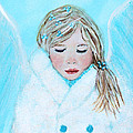 Talini Little Snow Angel Bringing Warmth On Cold Days by The Art With A Heart By Charlotte Phillips