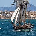 Tall Ship Alicante by Pablo Avanzini