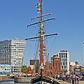 Tall Ship Astrid by Paul Scoullar