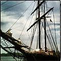 Tall Ship by Chalene  Weir