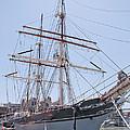 Tall Ship Elissa - Galveston Texas by John Black