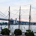 Tall Ship Gazela At Penns Landing by Bill Cannon