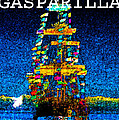Tall Ship Jose Gasparilla by David Lee Thompson