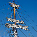 Tall Ship Rigging by Art Block Collections