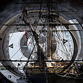 Tall Ship With Compass 2013 by Evie Carrier