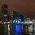 Tall Ships At Night Pano 2 by Mark Dodd