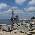 Tall Ships In The Distance by Rosanne Bartlett