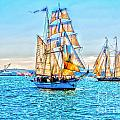 Tall Ships by Baywest Imaging