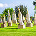 Tall Tombstones Panorama by Thomas Woolworth
