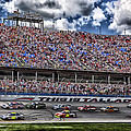 Talladega Superspeedway In Alabama by Mountain Dreams