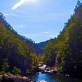 Tallulah Gorge In October by James Potts