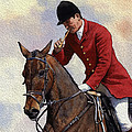 Tally Ho Detail by Anthony Forster