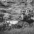 Tallyho Stagecoach Party C. 1889 by Daniel Hagerman