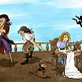 Tammy And The Pirates by Reynold Jay