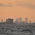Tampa At Sunrise by Bill Cannon
