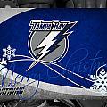Tampa Bay Lightning Christmas by Joe Hamilton