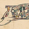 Tampa Bay Rays Poster Art by Florian Rodarte