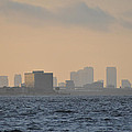 Tampa From The West Shore by Bill Cannon