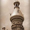 Tampa Minaret - Sepia by Carol Groenen