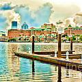 Tampa Skyline by Robert Palmeri
