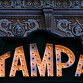 Tampa Theatre Sign 1926 by David Lee Thompson