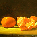 Tangerines by Ann Simons