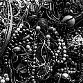 Tangled Baubles - Bw by Christopher Holmes