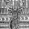 Tangled Deer by Sadie Maughan