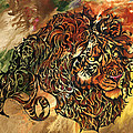 Tangled Lion by Sherry Shipley